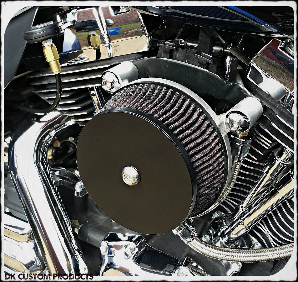 Custom Air Breather : Diy harley air cleaner cover do it your self