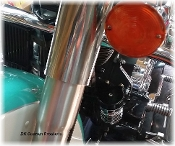 Cool-n-Clean Oil Filter Relocation Kit for Softail Models