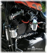 Cool-n-Clean Oil Filter Relocation Kit for Dyna Models