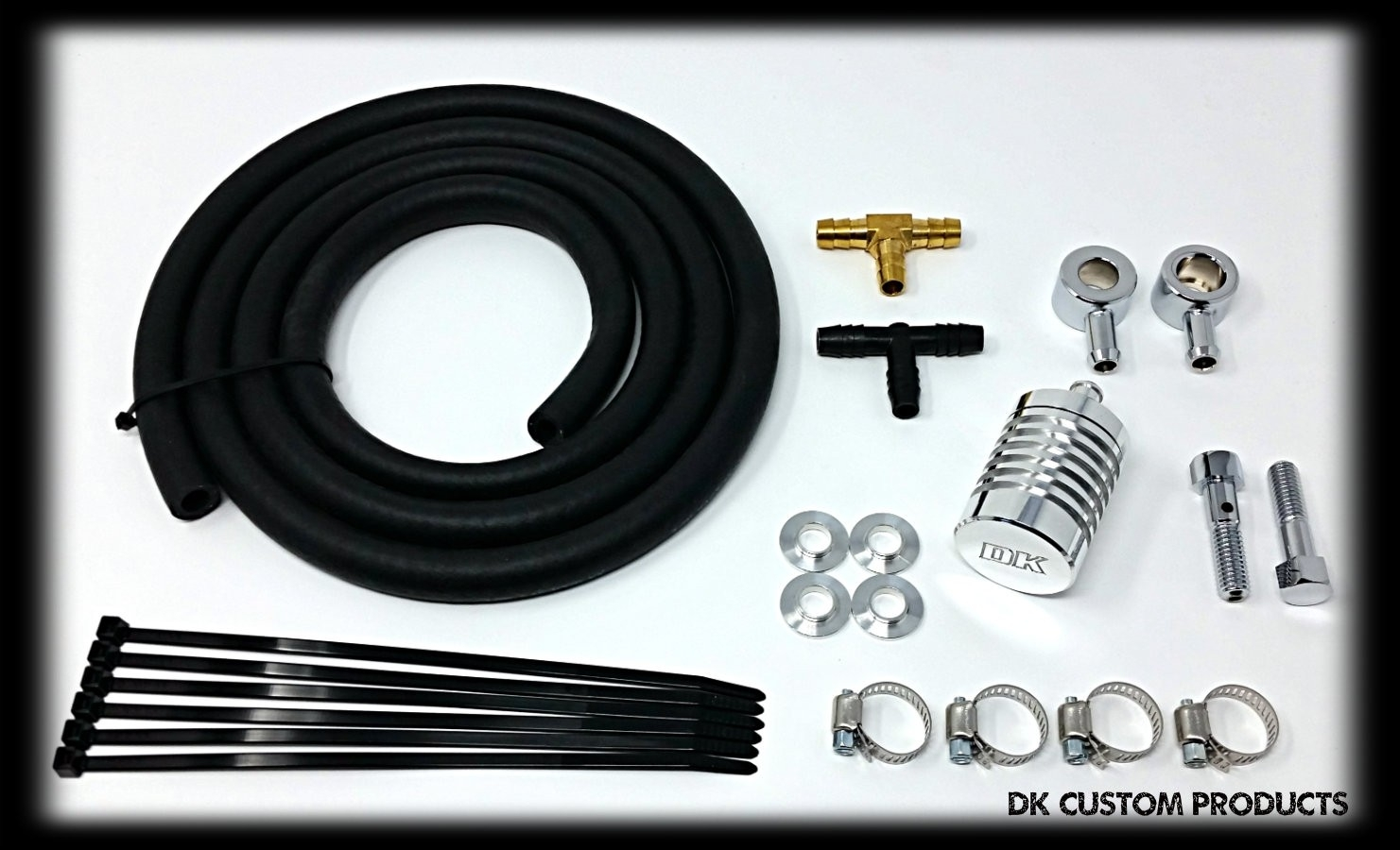 Hose & Catch Can External Breather Systems