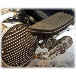 DK Custom Oil Filter Relocation Dual Cool Cool-n-Clean CnC Harley High Flow Performance Sportster  Dyna Softail Touring Trike Freewheeler Big Twin Evo Milwaukee Eight Cooler Running Motor easy oil changes complete Jagg