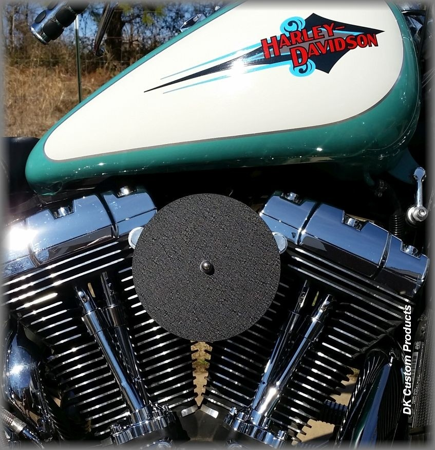Complete HiFlow 587 Air Cleaner Sano Black for Harley Twin Cam DK Custom Harley Davidson Outlaw Air Cleaner Systems Complete EBS High Flow M-8 Milwaukee-Eight Softail Twin Cam Dyna  Touring Trike Freewheeler  Big Twin Stage I TBW Throttle By Wire