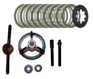 High Performance Clutch Kit w/ Extra Plate  & Tool for Harley DK Custom Products Energy One Big Twin Sportster Buell Evo BT Race
