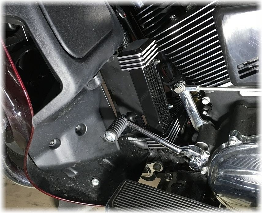 DK Custom Oil Filter Relocation / Oil Cooler Combo PKG For HarleyTrikes DK Custom High Flow Performance Sportster  Dyna Softail Touring Trike Freewheeler Big Twin Evo Milwaukee Eight Cooler Running Motor easy oil changes no mess complete Jagg HD