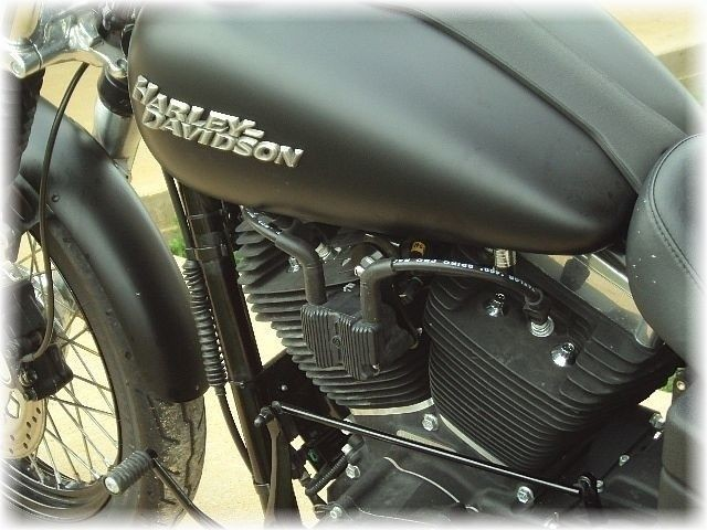 Harley-Davidson 2007-Up Dyna Coil Relocation Kit Plug-N-Play DK Custom Twin Cam Carbed MADE IN THE BETTER LOOK ~ BETTER AIR-FLOW Black POWDER COAT Finish