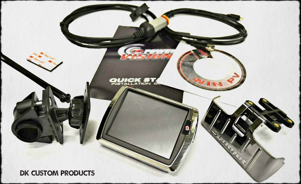 DK Custom Dynojet Power Vision Flash Tuner w/ Auto Tune Stage 1 Harley-Davidson Fuel Moto
