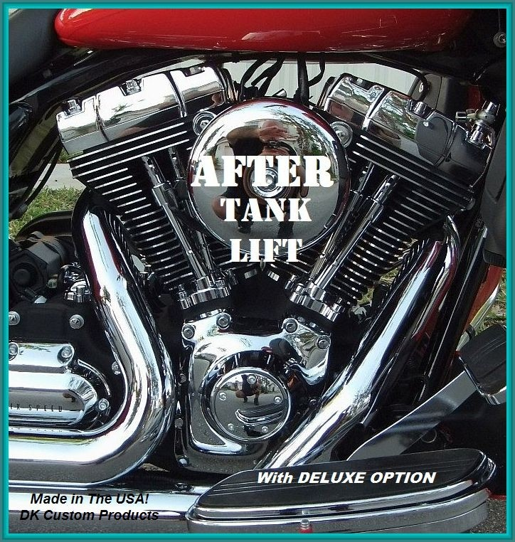Harley Davidson Touring Models Road King Electra glide Ultra Road Glide Street Glide Deluxe option kit bike runs cooler motorcycle road king street glide electra ultra road glide CVO SE DK Custom Products better air flow Softail