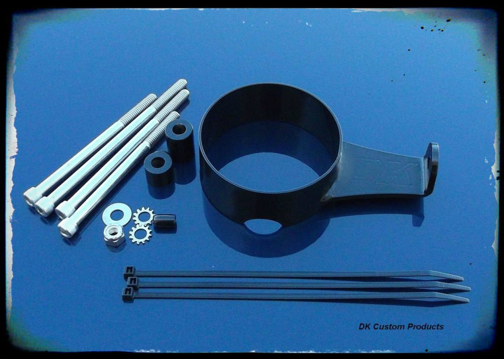 DK Custom Speedo Relocation Kit for Harley-Davidson Sportsters Left or Right side Super Custom 48