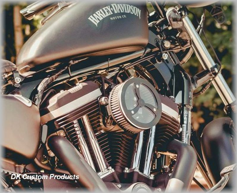 Black Cyclone Cage Transparent cover Outlaw  HiFlow 587 Air cleaner Sportster Harley Davidson High Flow Air cleaner DK Custom Nightster Iron 48 Custom Low SuperLow Stage I K&N EFI Carbureted Complete High Performance