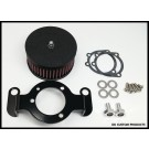 Complete HiFlow 425 Air Cleaner Wrinkle Black for Harley Twin Cam