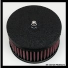 Wrinkle Black Face Plate Cover for Outlaw 425 Air Cleaner