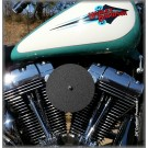 Complete HiFlow 587 Air Cleaner Wrinkle Black for Harley Twin Cam