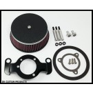 Wrinkle Black Complete HiFlow 606 Air Cleaner For Twin Cam Dyna Softail Touring Trike
