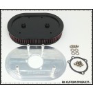 Complete HiFlow 828 Air Cleaner System - Harley Sportster No Cover - Ham Can Fits