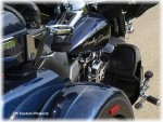 Chrome Passenger Cup - Drink Holder For Harley Touring Models DK Custom Harley Davidson Kuryakyn