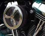 Chrome Cyclone - Outlaw HiFlow 587 Air Cleaner System
