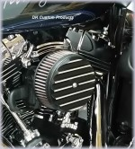 DK Custom Basic Stage I Kit for Twin Cams Harley-Davidson Dyna Softail Touring K&N air cleaner XiED Power Vision TTI Thunder Torque Insert Slip ons Full Exhaust