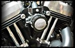 Black Outlaw V-Stack Intake Twin Cam Complete System Harley Davidson DK Custom Cable Operated  External Breather system EBS High Flow Performance Dyna Softail touring Trike Freewheeler