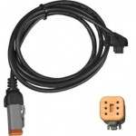 DK Custom PV-1 Cable 6-Pin For Power Vision 6 pin flash tuner  Harley-Davidson Fuel Moto
