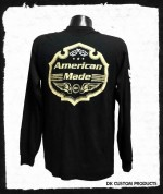 American Made Shield Long Sleeve Shirt ~ DK Custom Products