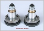 DK Custom Improved Front Suspension w/ Intiminator Fork Valves For Harley Comfortable Ride suspension Ricor