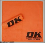 DK Custom Products Lint Free Microfiber Towel Motorcycle Harley Paint Chrome