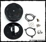 DK Custom Performance DK Billet 587 Air Cleaner M8 Milwuakee eight Stage I 1