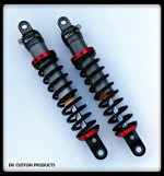 Harley-Davidson DK Custom Products no more dragging pipes Level out Pro-Action/DK Custom Trike Series Shocks