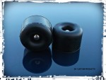 Outlaw Rubber Bumpers for Your Solo Seat Pan - Pair of 2