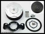 DK Custom Harley DK Billet Stage I Performance Sportster Iron 48Outlaw 606 Stage I Air Cleaner