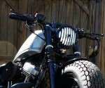 DK Custom Stealth LED Front Turn Signals - White Run Plug-n-Play Sportster Custom Dynamics SEE & BE SEEN