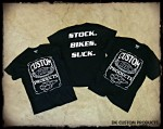 Stock. Bikes. Suck. ~ DK Custom Products Dry Blend Shirt