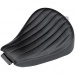 DK Custom Super Low Profile Solo Seat for 2010-Up Harley Sportsters Sporty-8 Biltwell