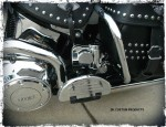 Softail Stealth Mounting Bracket for Wolo Horns DK Custom Harley Davidson