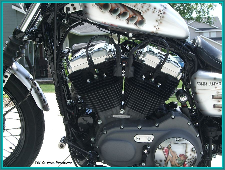 Ignition Relocation Sportster Nightster 48 Iron