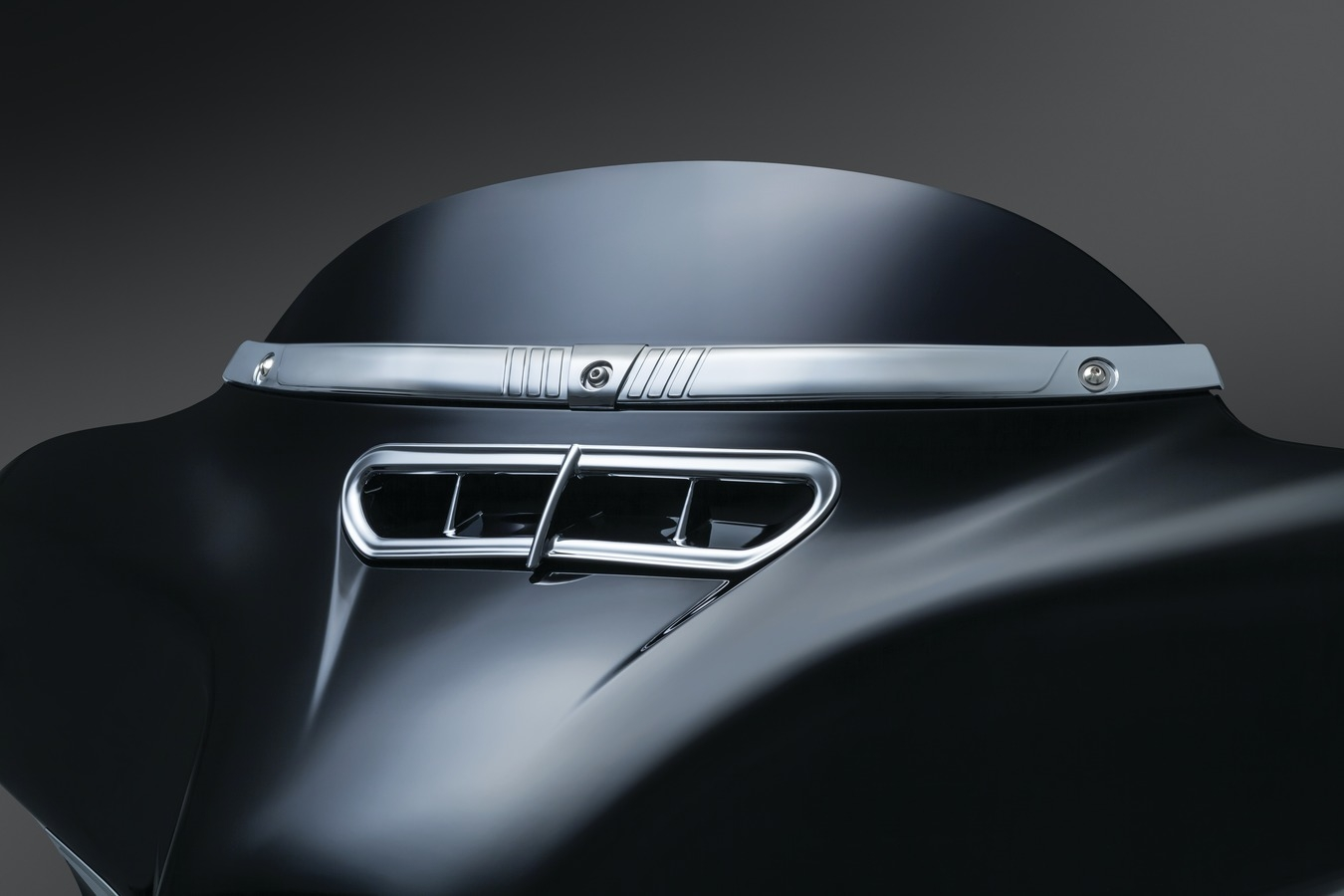 Fairing Vent - Chrome Trim Accent for 2014-Up Touring & Trike