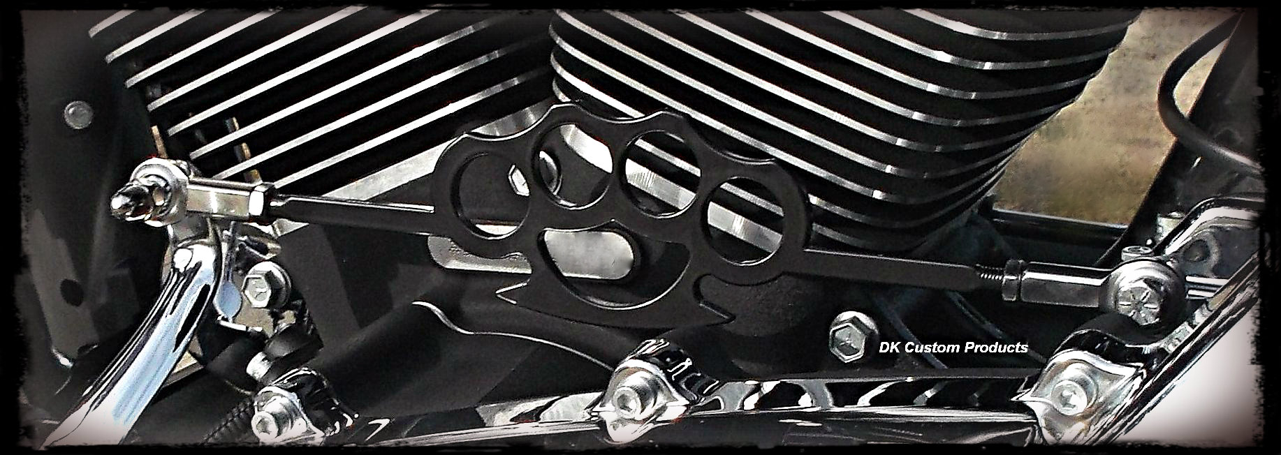 Knuckle Shift Linkage in Stealth Black w/ Heim Joints