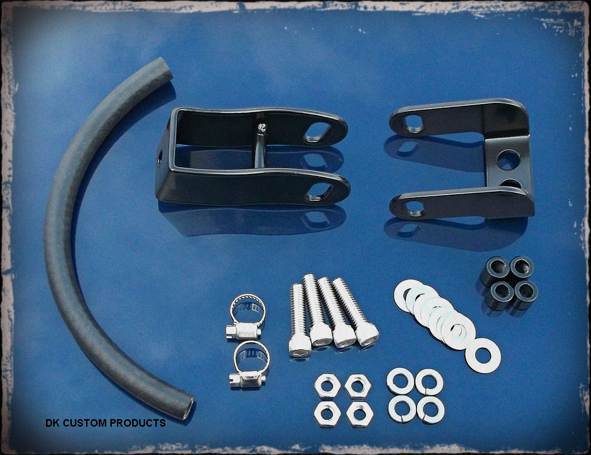 Split Tank Lift Kit for Dyna & Softail Models