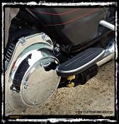Cool-n-Clean Filter Relocation Kit for Harley Touring Models