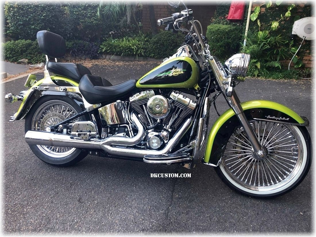 Ultimate Softail Heat Reduction