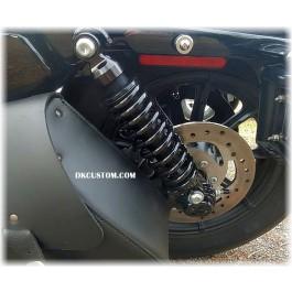 DK Custom Twin Adjustable - Performance Rear Shocks For Harley-Davidson More Comfortable Ride suspension Bitubo
