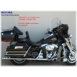 Relocation kit for Tour-Pak Harley Baggers 97-08 ...More Details