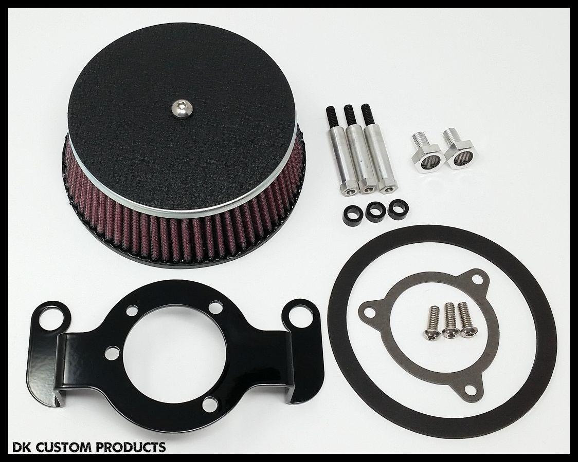 DK Custom Harley Outlaw 606 Stage I Air Cleaner Dyno Chart