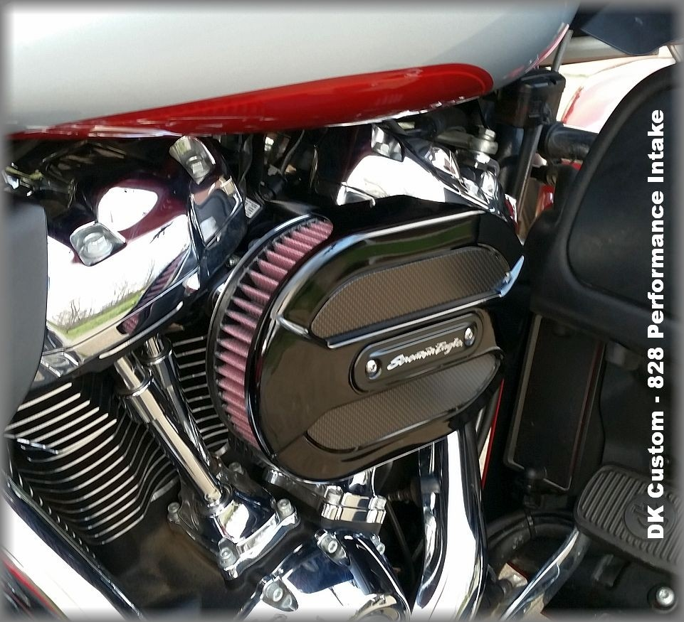 DK Custom Outlaw Performance 828 Air Cleaner Intake Stage I IV external breather Ventilator Made in USA K&N