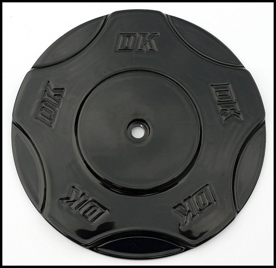 Black DK Billet Aluminum Cover for Outlaw HiFlow 606 Air Cleaner   DK Custom