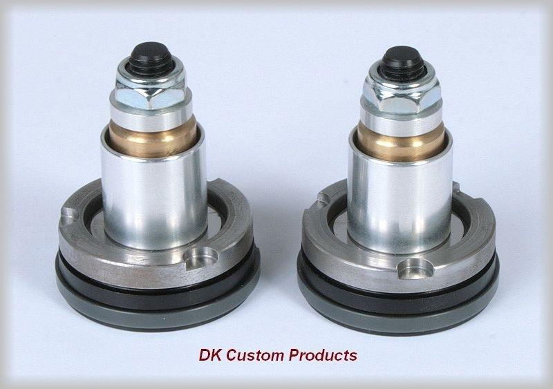 DK Custom Improved Front Suspension w/ Intiminator Fork Valves For Harley Comfortable Ride suspension Ricor