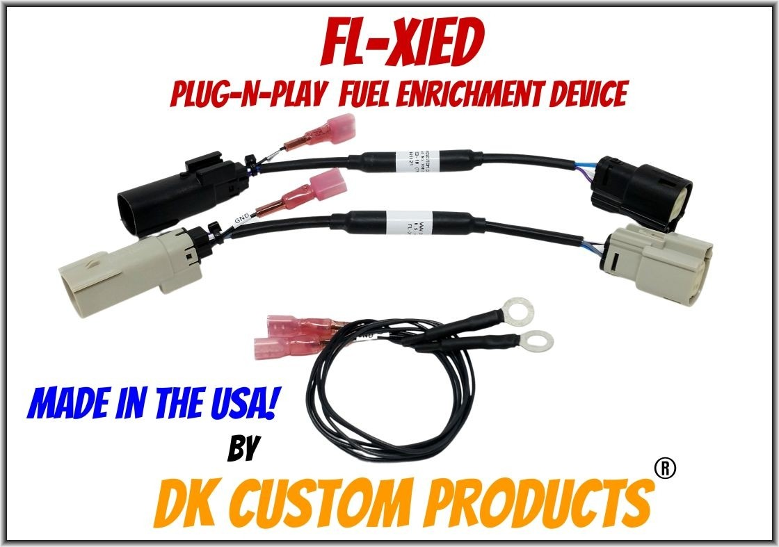 Plug-n-Play Fuel Enrichment for Fuel Injected Harley-Davidsons FL-XiED Lowers Engine & Exhaust Temps - Improves Throttle Response Harley-Davidson DK Custom Nightrider Stage 1