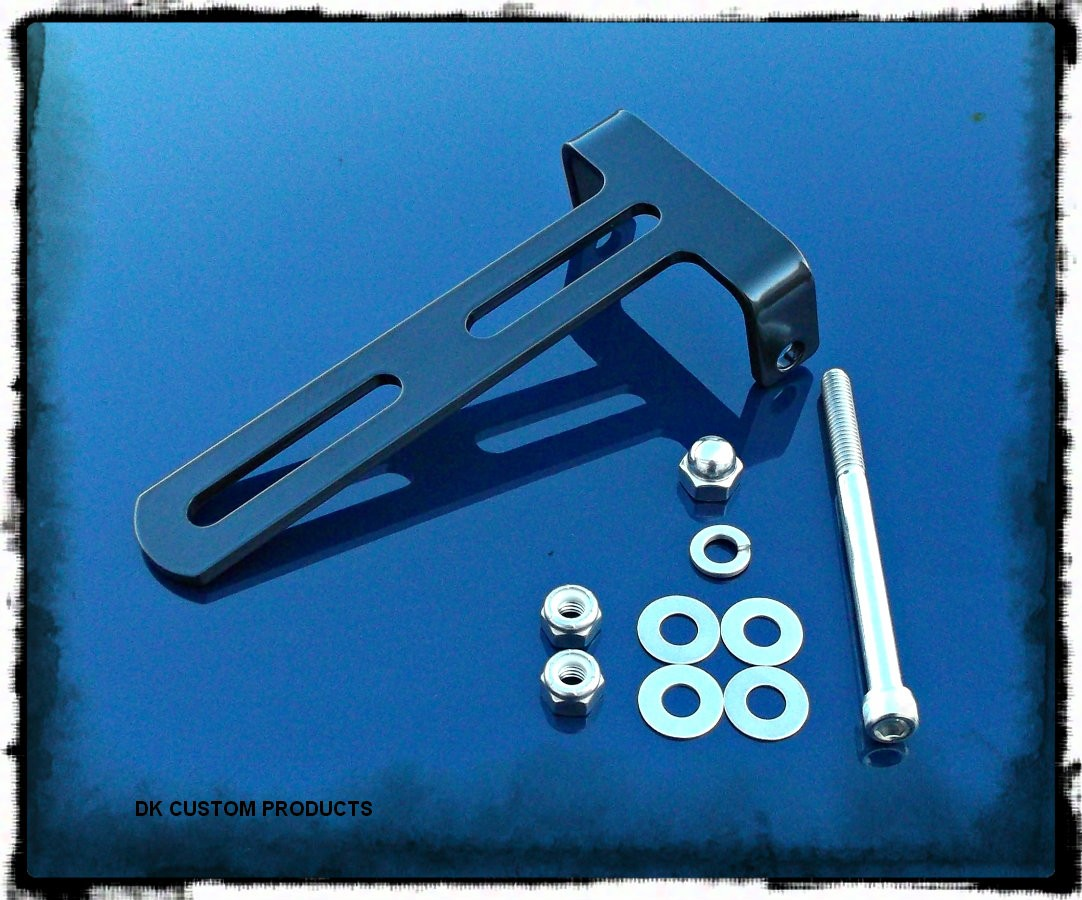 DK Custom Outlaw Bolt on Front Mount Seat Hinge Harley-Davidson Solo Seat Made in the USA