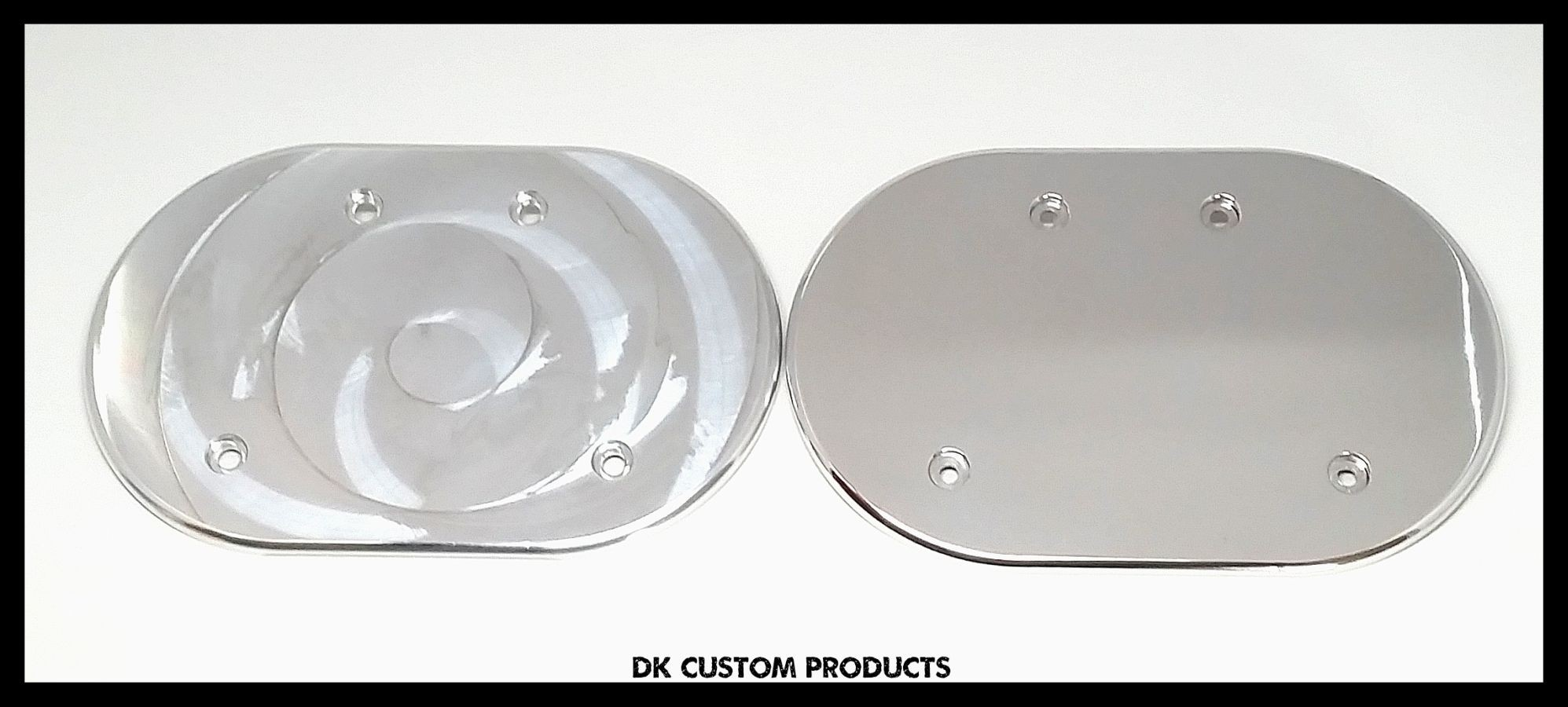 Machine Cut Finish Cover for DK Custom Harley Stage I IV Sportster 828 Outlaw High Flow HiFlow Air Cleaner