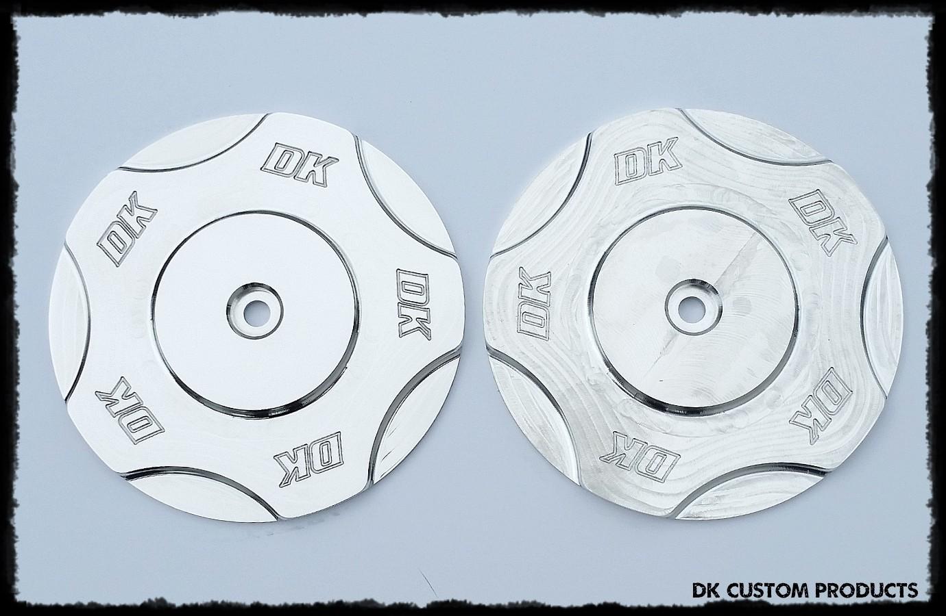 DK Billet Aluminum Cover for Outlaw HiFlow 606 Air Cleaner   DK Custom